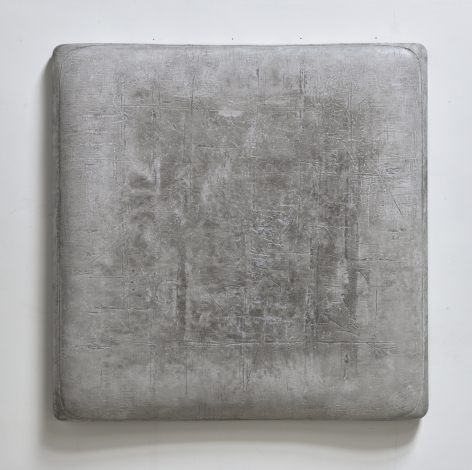 Delicate Dust纖塵, 2018, oil, lacquer, linen and wood