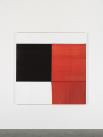 CALLUM INNES Exposed Painting Crimson Lake, 2018