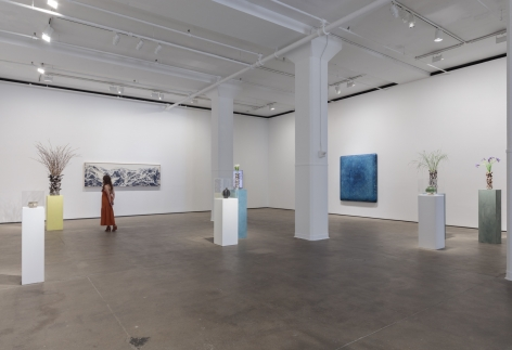 Installation view of Abstract by Nature at Sean Kelly, New York, June 28 - August 2, 2019