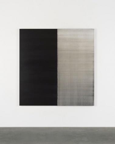 CALLUM INNES, Untitled Lamp Black No. 3, 2018
