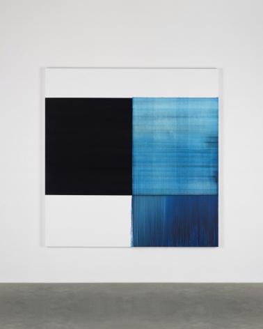 CALLUM INNES Exposed Painting Phthalocyanine Blue, 2018