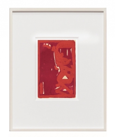 Untitled,1992 gouache on paper