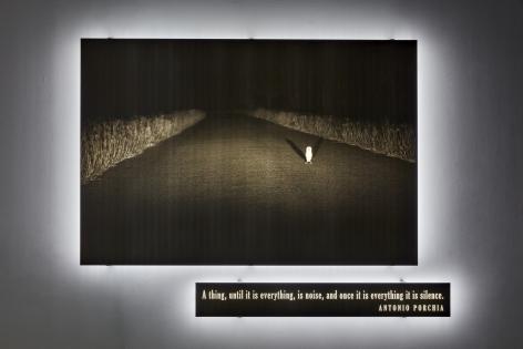 JOSEPH KOSUTH 'Illumination (Existential Time) #2', 2020