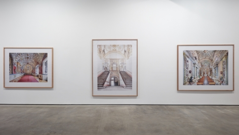 Installation view of Candida Höfer - In Mexico at Sean Kelly, New York