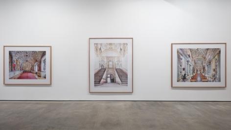 Installation view ofCandida Höfer - In Mexicoat Sean Kelly, New York