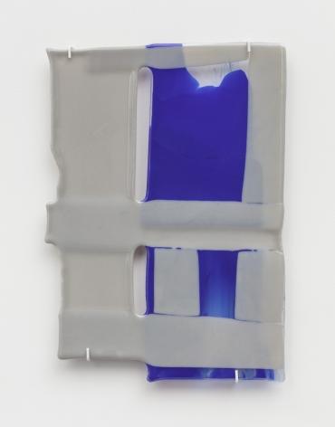 Small Bond No. LIII, 2019, fused glass