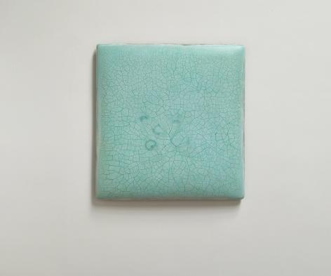 SU XIAOBAI, Infinity - No. 6 (Turquoise) 冰裂-6, 2019