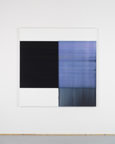 CALLUM INNES Exposed Painting Delft Blue / Violet, 2018