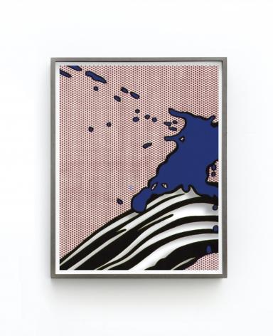 Jose Dávila Untitled (Brushstroke with Spatter), 2021