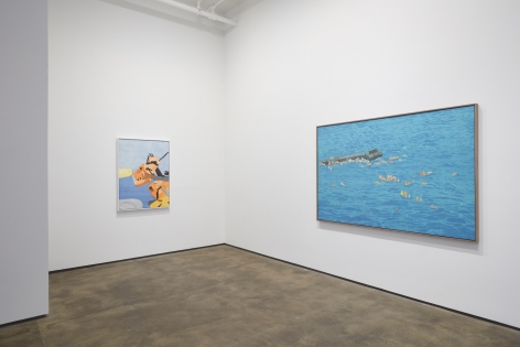 Installation view of Hugo McCloud: Burdened at Sean Kelly, New York