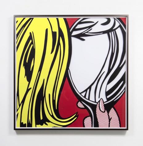 JOSE DAVILA, Untitled (Girl in Mirror) II, 2019
