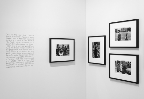 Sean Kelly at The Armory Show 2020, Special Presentation of Dawoud Bey's Harlem, U.S.A. series