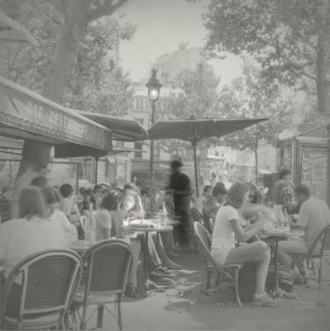 Café by République, Paris, July 2001