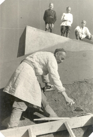 Man With Trowel, ca. late 1920s-early 1930s