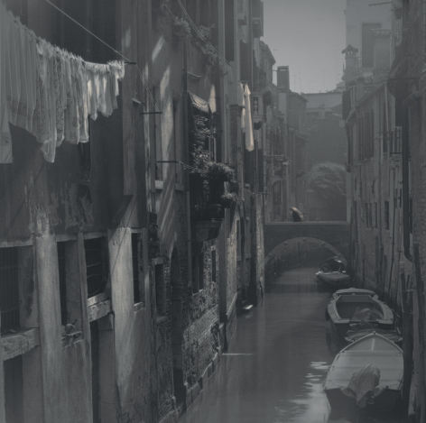 Laundry Hanging Along Canal, Venice, 2006
