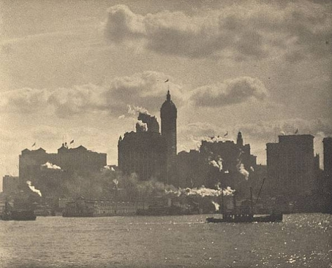 Alfred Stieglitz Lower Manhattan, 1910