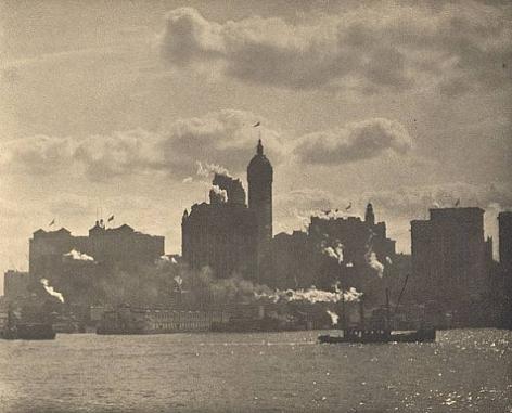 Alfred Stieglitz Lower Manhattan, 1910