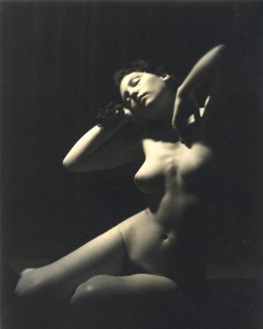 Desnudo, 1938 Vintage gelatin silver print