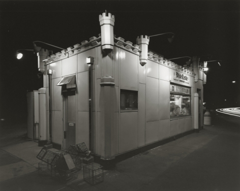 White Castle, Route #1, Rahway, New Jersey, 1973, printed 2007