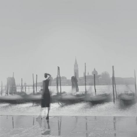 Gondolas, Venice, 2001