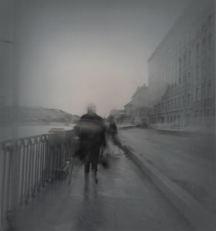 Fontanka Embankment, St. Petersburg, 1995, Toned gelatin silver print
