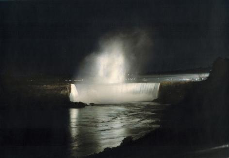 Rising, Niagara Falls, 1978, painted 2017
