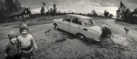 Vuokkiniemi, Karelia, Russia, 1991