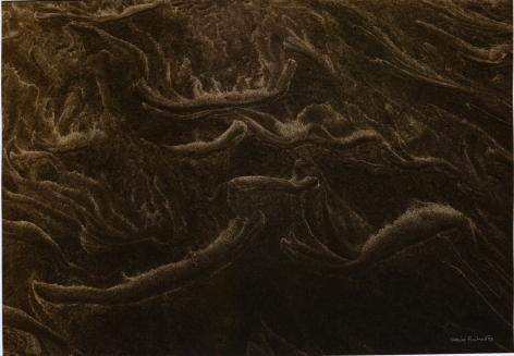 Denis Brihat Traces dans le sable (Traces in the sand), 1998