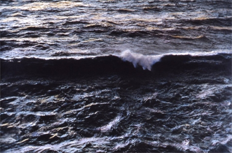 Wave, 1981, painted 2017