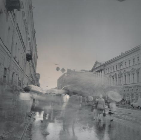 Umbrellas, St. Petersburg, 1995