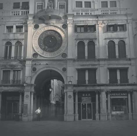 Clock Tower, Venice, 2014