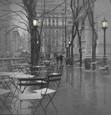 New York Public Library, New York, 2017, Toned gelatin silver print