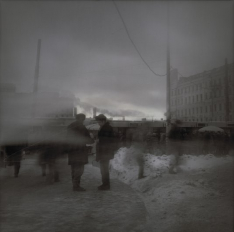 Alexey Titarenko Evening Smog (Asking for a cigarette), St. Petersburg, 1995