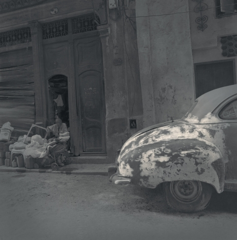 Beat-up Car, Havana, 2003