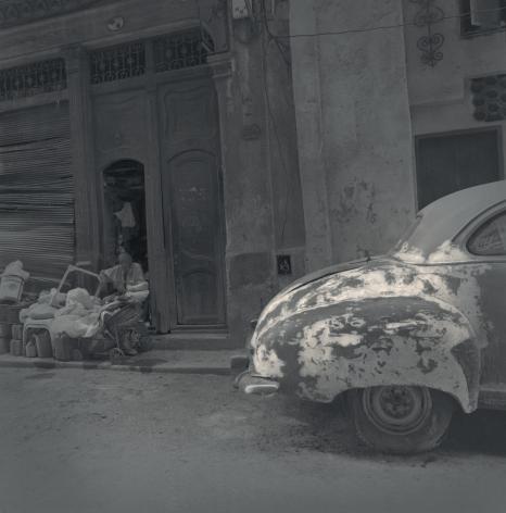 Beat-up Car, Havana, 2003