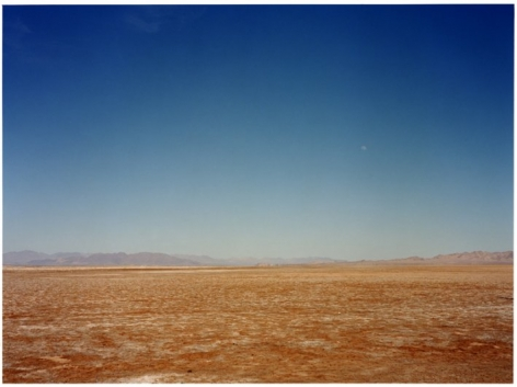 Lunar Landscape, Nevada Test Site,2002, C-type archival hand print, window mounted