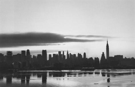George Tice Sunrise, New York, 1971