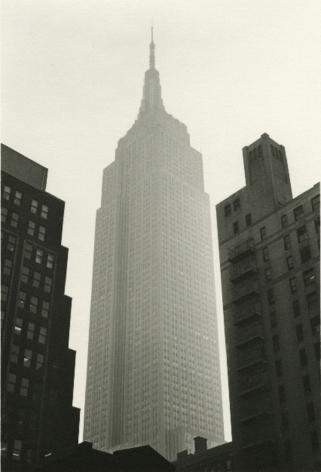 Empire State Building, 1988, Gelatin silver print