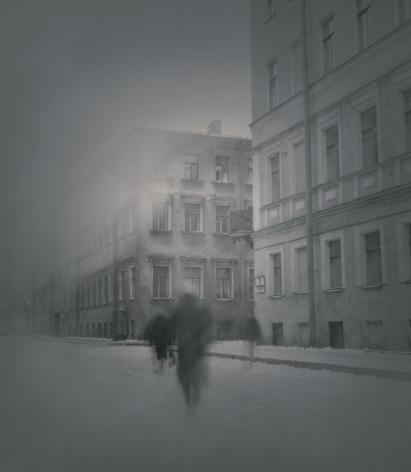 Dostoevsky Apartment on Kaznacheyskaya,St. Petersburg, 1995, Toned gelatin silver print