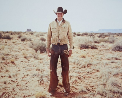 Cowboy, Valley of the Gods, Utah, 2015