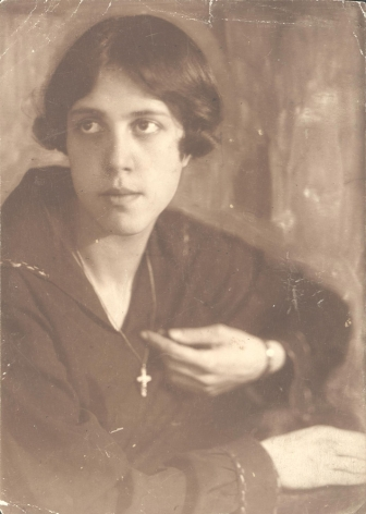 Portrait of Elena Lyukom