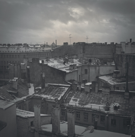 View of the Roofs, St. Petersburg, 1996