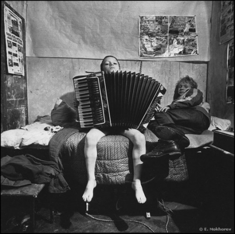 Sasha and Serezha (accordion), Temporary Orphanage, 1991