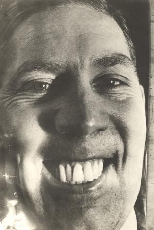 Georgy Petrussov (1903-1971), Caricature Portraitof Photographer Boris Kudoyarov, 1934