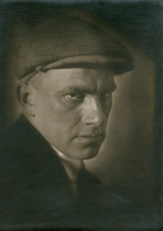 Portrait of Mayakovsky, 1924, Vintage gelatin silver print mounted on paper