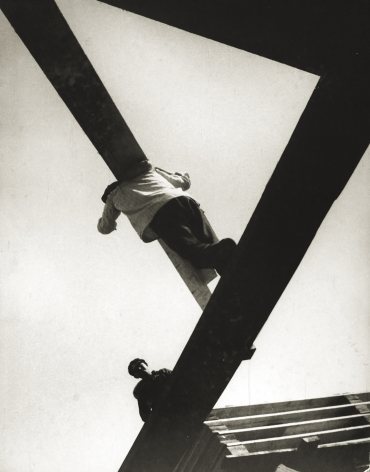 With a Board, 1929, Gelatin silver print mounted on board