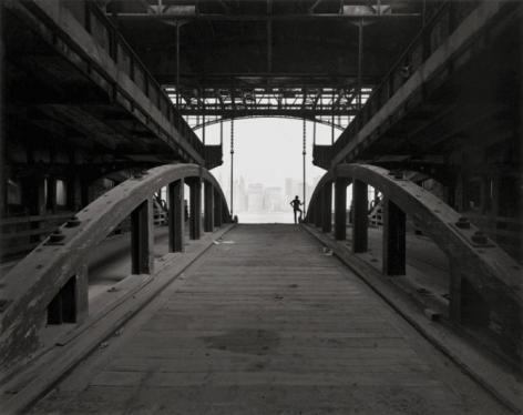 George Tice Ferry Slip, Jersey City, NJ, 1979