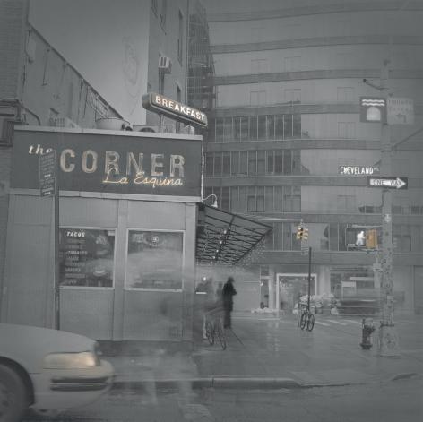 Corner La Esquina, New York, 2013