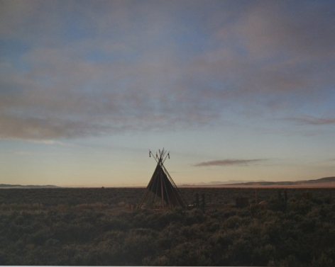 Teepee, Taos, New Mexico, 2015