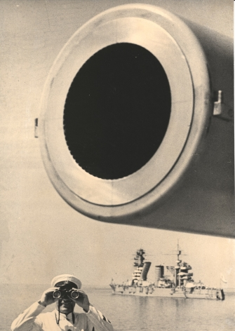 On Guard, (Large-Bore Cannon) Baltic Fleet, 1936